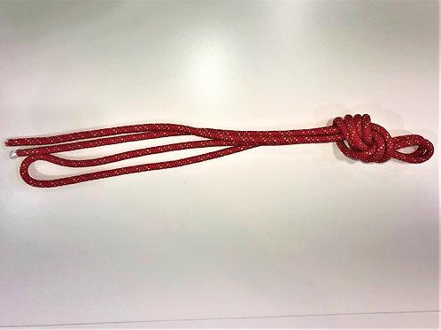 fune rossa con inserti oro 3mt