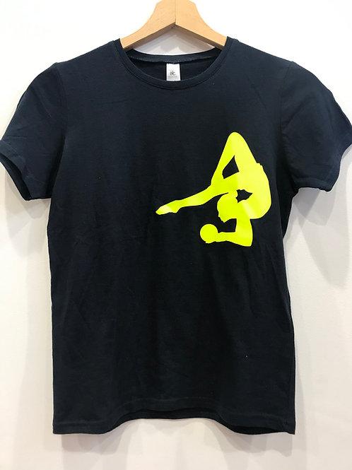 T-shirt ginnastica ritmica - blu