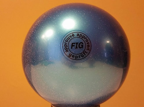 Palla Gliterata Blu