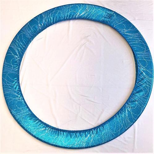 porta cerchio skate blu