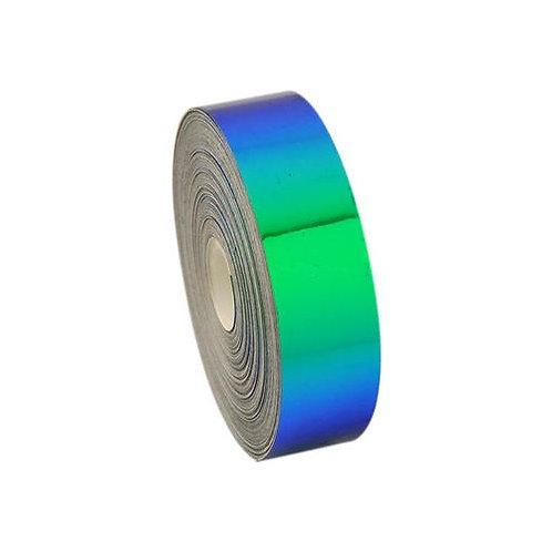Nastro adesivo Laser Blu Verde