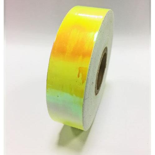 Nastro adesivo camaleon giallo fluo