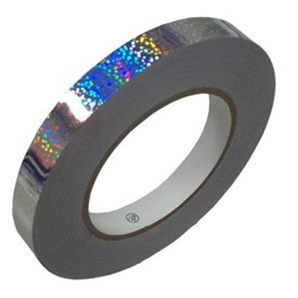 Nastro adesivo Sasaki Argento Glitterato