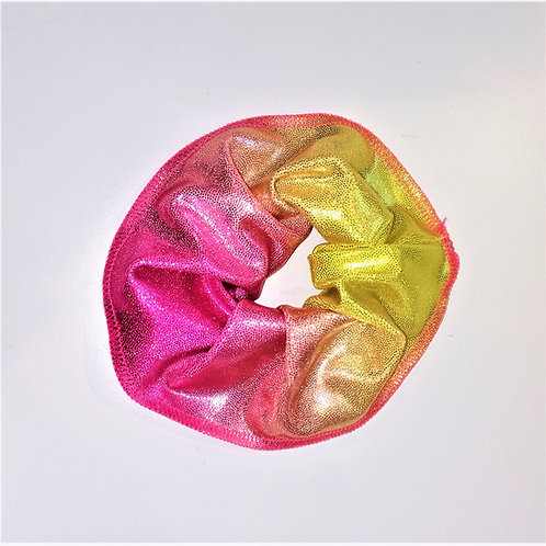 elastico lurex stampato giallo-rosa