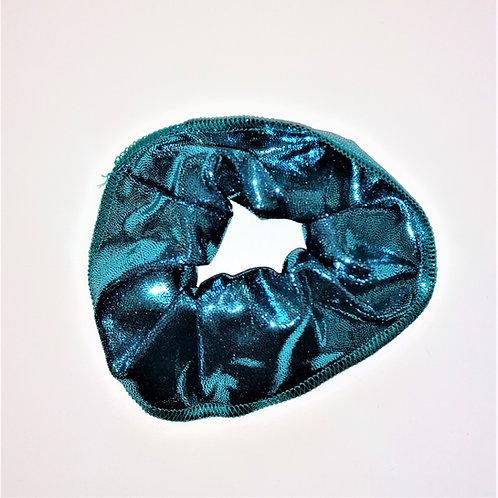 elastico lurex turchese