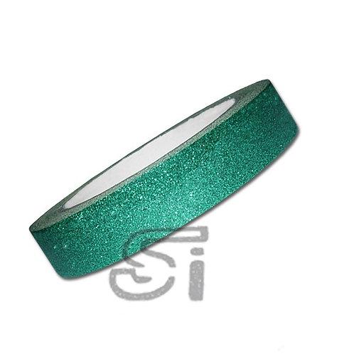 Nastro adesivo shiny verde turchese