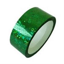 Nastro Adesivo Glitter Verde