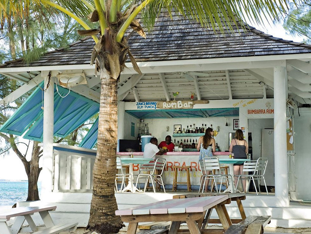"Da Conch Shack, featured on '1000 Places To See Before You Die"".  With a laid-back vibe and beachfront location, a perfect ambiance and a beautiful sunset."