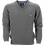 Thumbnail: WOOLLEN BLENDED LOGO EMBROIDERY V-NECK SWEATER
