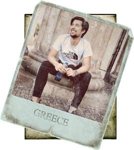 Ninefoot Koozie stubbie holder in Greece
