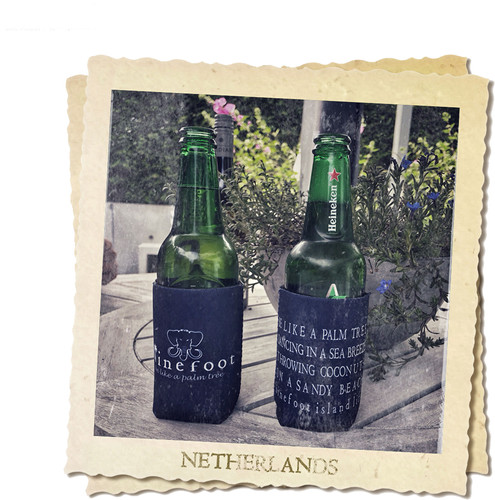 Ninefoot Koozie stubbie holder in the Netherlands