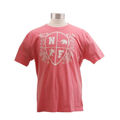 Pink T-Shirt The Shield Front View