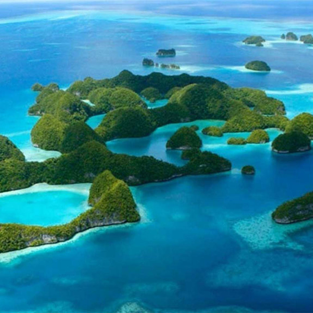 Ninefoot's favorite islands to visit, Palau, Micronesia