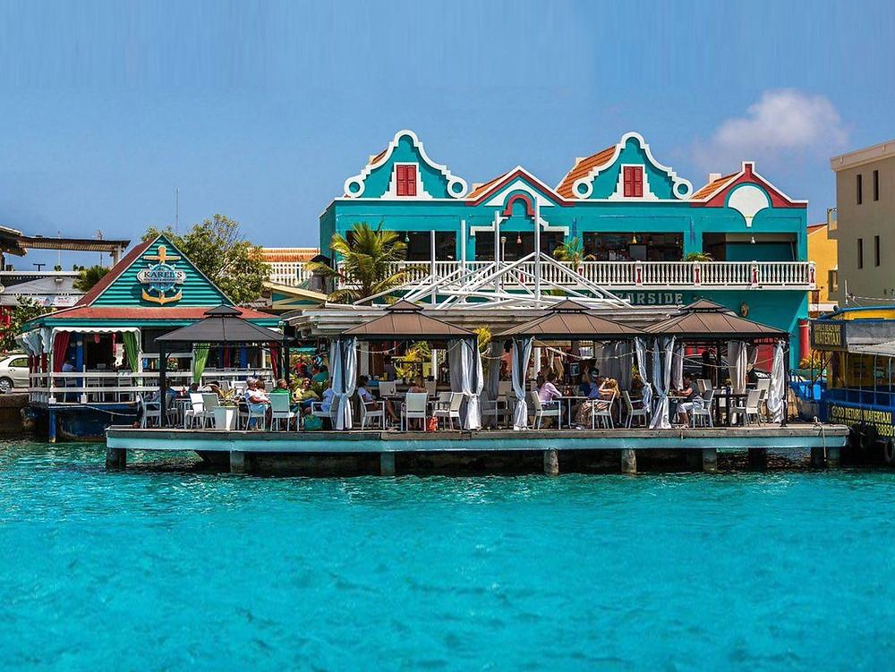 Karel's Beach Bar is the hotspot on the Dutch Caribbean island of Bonaire.