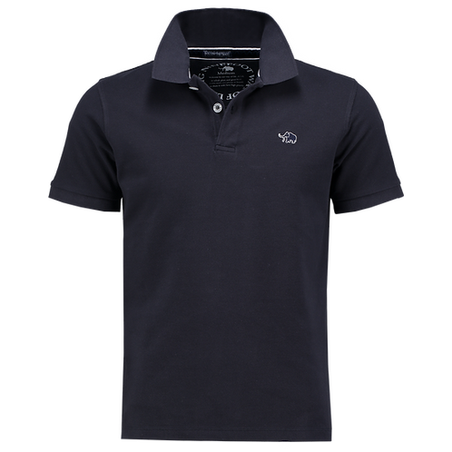 PIQUÉ COTTON LOGO EMBROIDERY SEMI FIT POLO SHIRT
