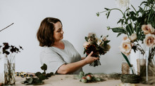 Gold & Charcoal - Styled Shoot