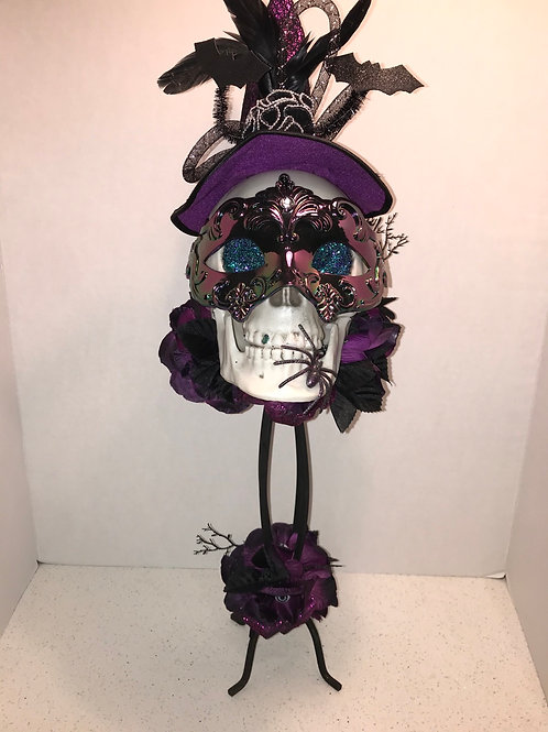 Purple Mask Skull