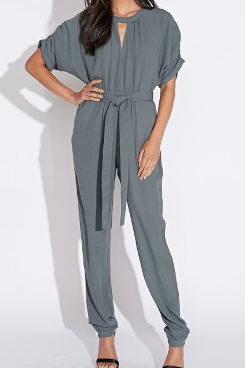 Blue Blush Jumpsuit with Pockets