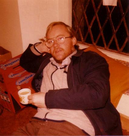 Roger Mathews at Castle Radio