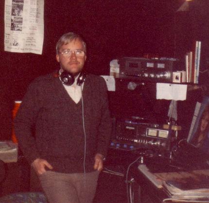 Roger in the original Sunshine studio
