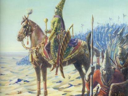Mythology Monday: Banu Goshasp