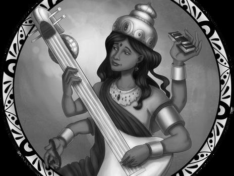Divine Spotlight: Sarasvati