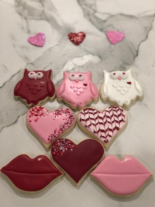 Valentine's Day Cookie Bundle
