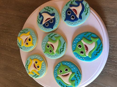 Baby Shark Cookies