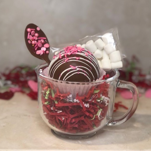 Hot Cocoa Bomb Mug Set