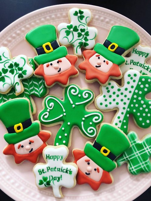 St. Patrick's Day Cookies