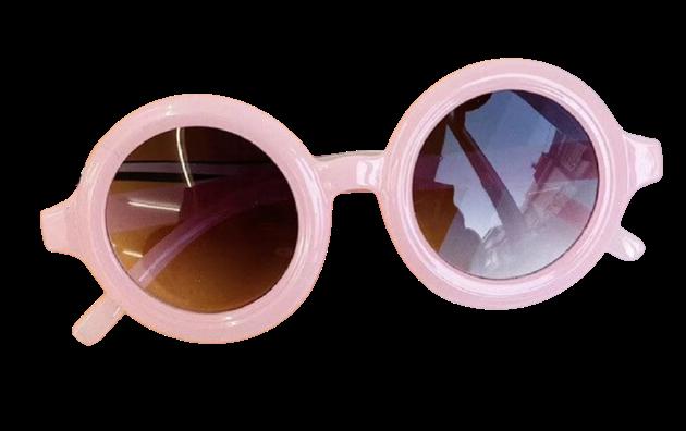 Round Sunglasses - Pink