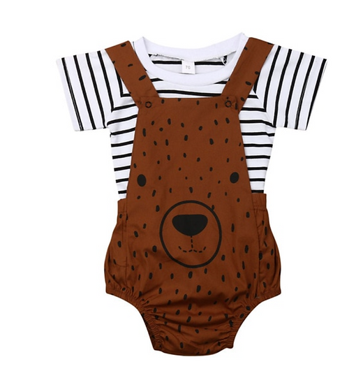 Teddy Tee Playsuit