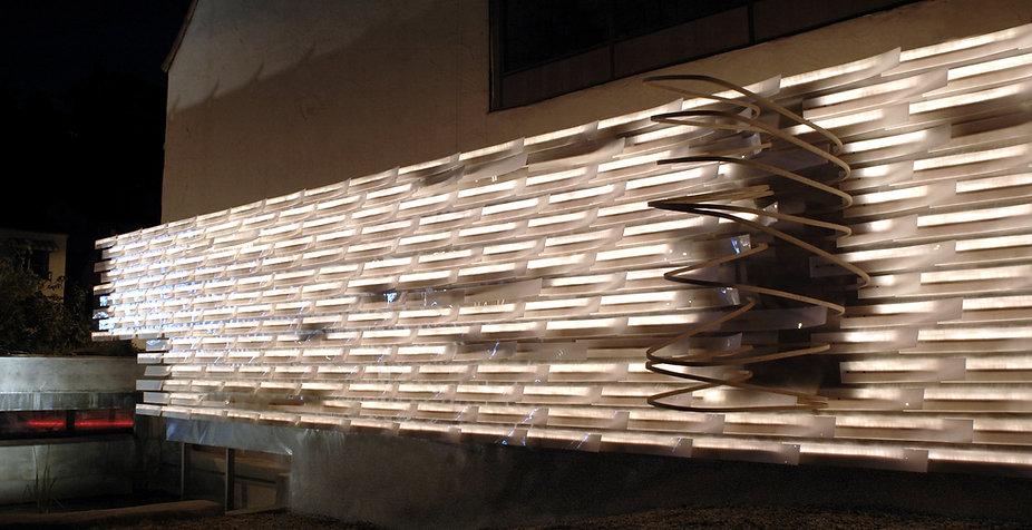 Materials & Applications Art Gallery, Los Angeles, Serial Departure, Art Installation