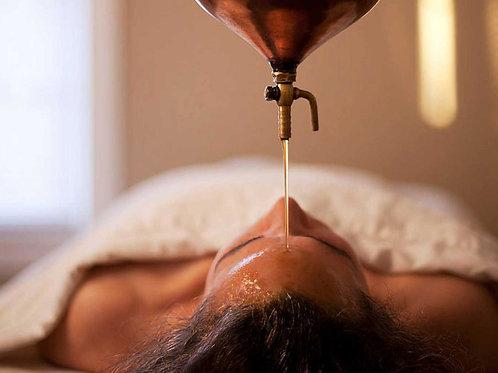 Massagem Shirodhara