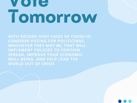 Vote to Fight COVID-19