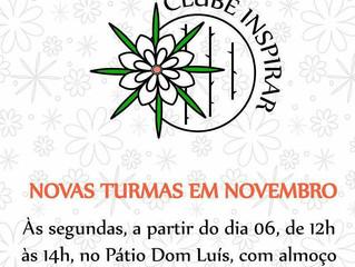 Clube Inspirar - Turma Nova!