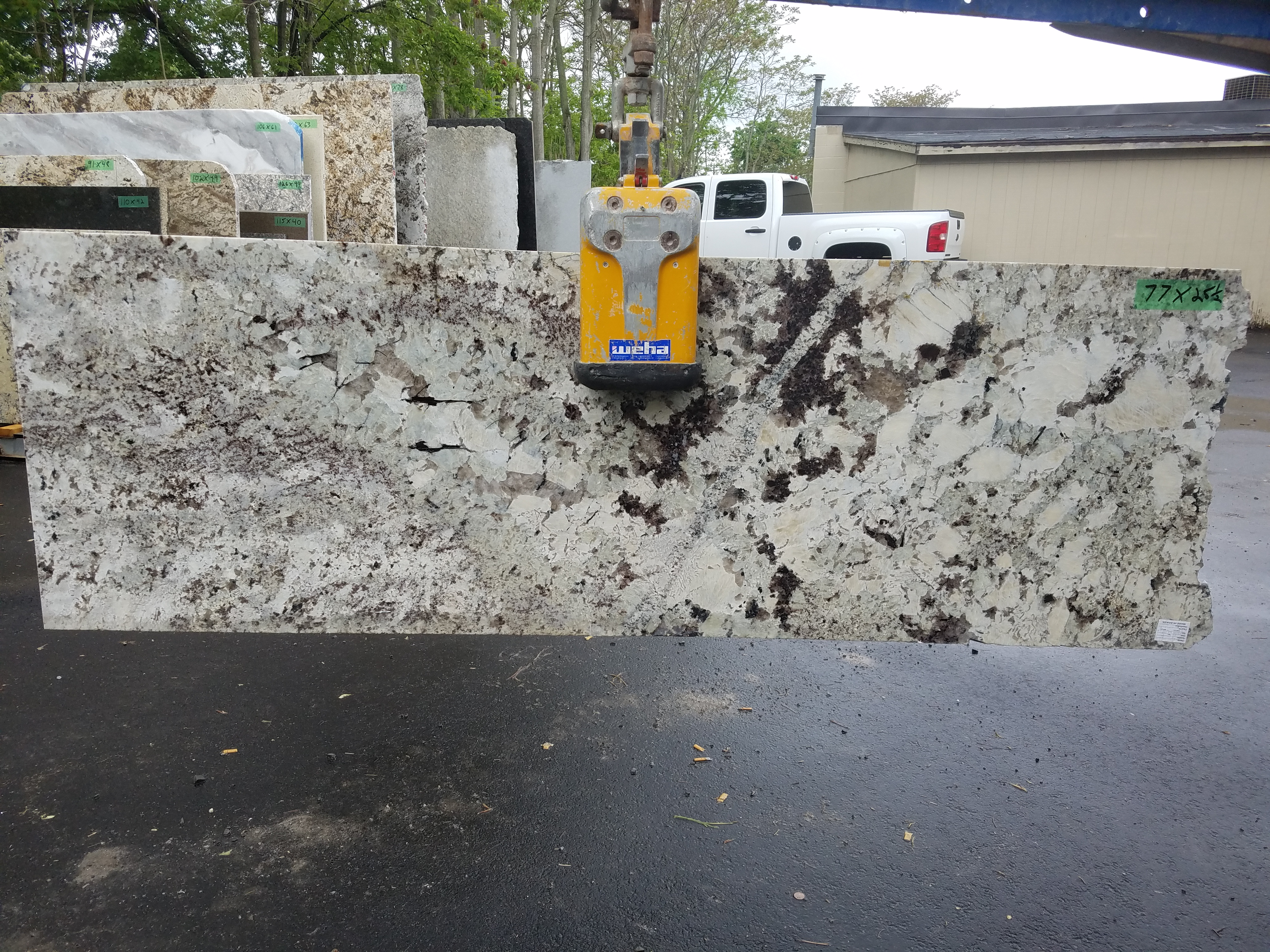 Granite 17 - 77 x 25.5