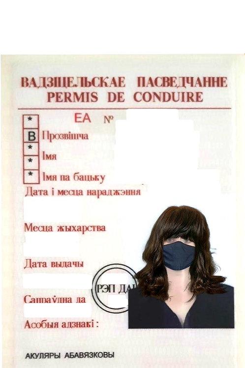Führerschein Belarus alt