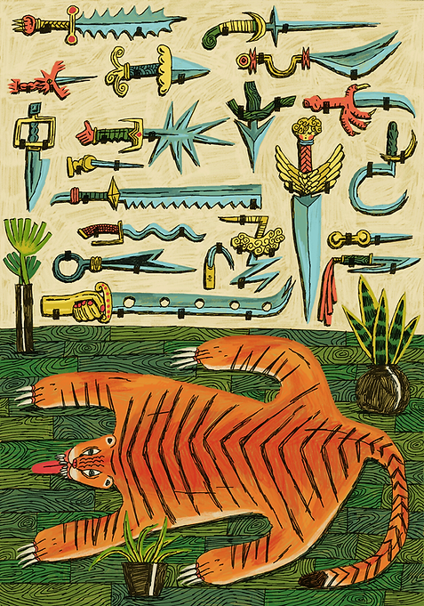 tiger-rug-knife-wall.png