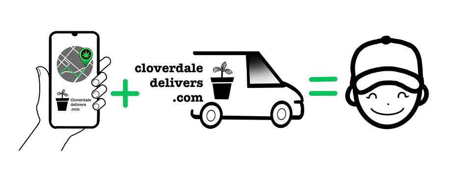 order delivered with a smile