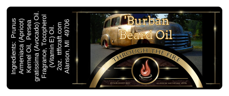 'Burban Beard Oil
