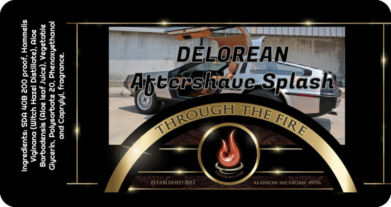 Delorean Aftershave