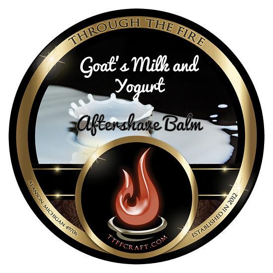 Goat's Milk and Yogurt Aftershave Balm