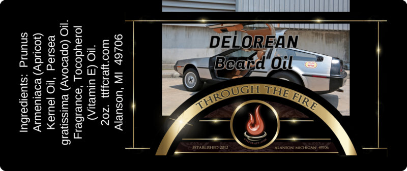 Delorean Beard Oil