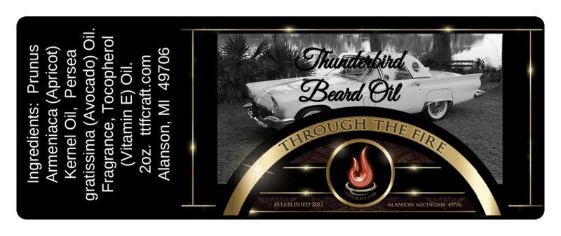 Thunderbird Beard Oil