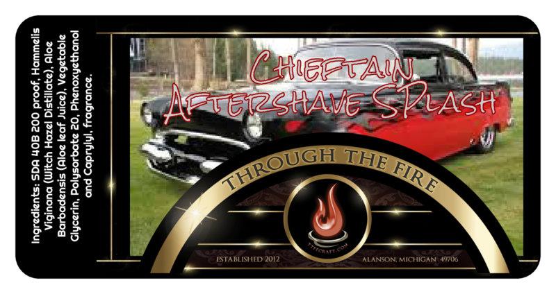Chieftain Aftershave Splash