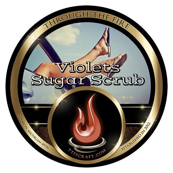 Violets Sugar Scrub