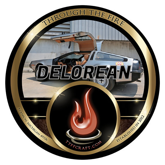 Delorean Shaving Soap