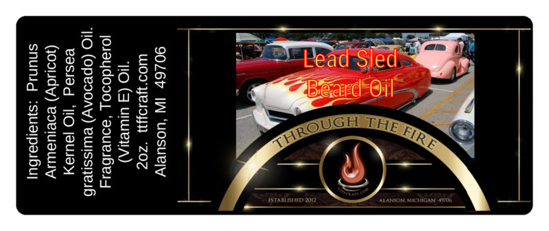 Lead Sled Beard Oil