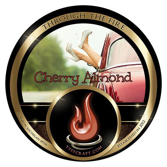 Cherry Almond Shaving Soap (High Octane Base)